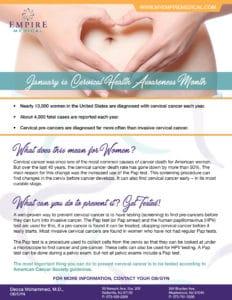 January Awareness